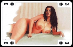 Erotic Playing Cards 9 - BBW 3 c. 1995 for fistu