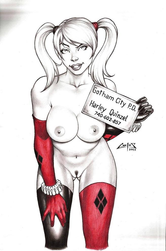 Порно рисунки харли квинн 13657 фотография