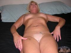 Blonde Married MILF - N