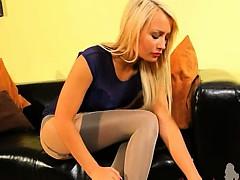 fairhair-in-incredible-nylon-pantyhose
