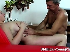 Grandpa Loves Naive Chubby Chicks