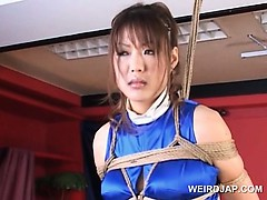 roped-asian-pregnant-sex-slave-gets-huge-tits-rubbed
