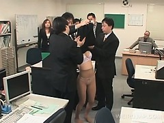 Asian office slave