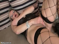 Dirty Mature Woman Goes Crazy Part2