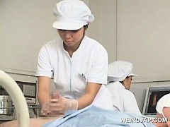 sweet-asian-nurses-giving-handjob-in-group-for-cum-sample