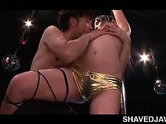 boob-flashing-japanese-pole-dancer-teasing-dick-in-a-sex-bar