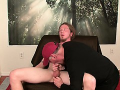 Str8 Scruffy Wisconsin Farm Boy's First Gay Bj,rim Job And