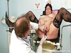 busty-elder-woman-gyn-clinic-exam