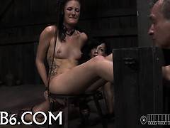 facial-and-pussy-torture-for-babe
