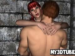 Tasty 3d Cartoon Redhead Babe Getting Fucked Hard