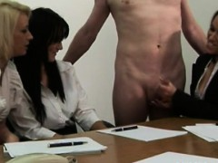 cfnm office whores jerking his penis