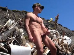 hot-big-dick-at-the-beach