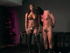 ebony-mistress-fucks-her-slave-with-gimp-mask
