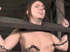 bdsm-hogtied-bondage-sub-nipple-punished