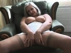 fat-granny-teasing-her-body