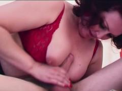 mature-brunette-woman-sucks-dick