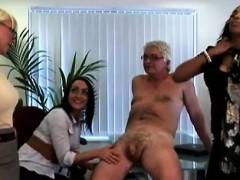british-ladies-get-revenge-on-cfnm-office-perve