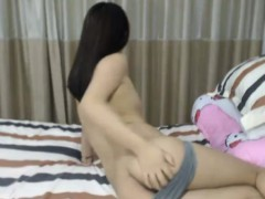 Sexy as hell Chinese trimmed teenager Linda