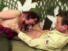 german-army-uniform-milf-get-fucked-by-young-boy