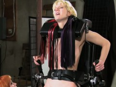 blonde-bound-in-standing-frame-flogged