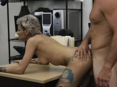 fucked-and-taking-facial-in-front-of-husband-in-pawn-shop