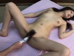 ayu-s-wet-nad-hairy-cunt-gets-to-be-toy-pleased