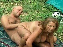 fat huge tit granny outdoor riding fresh cock granny sex movies