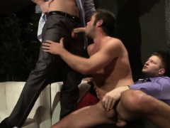muscled-hunks-in-suits-cover-stripper-in-jizz