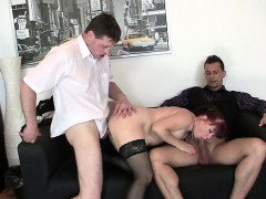lovely-office-lady-enjoys-two-dicks-at-once