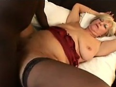 blonde granny wants his black dick in her granny sex movies