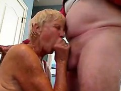 blonde granny gives her husband a blowjob granny sex movies