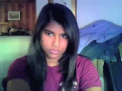 cute-indian-chick-strips-and-plays-alone
