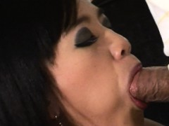 Thai bitch is sucking on a small dick so hard www.layardewasa.com
