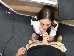 brunette-spanish-stewardess-gets-fucked