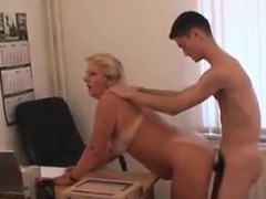 Mature Russian And Her Employee Fuck