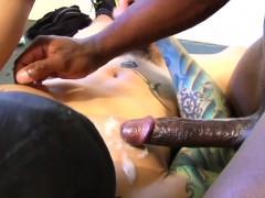 muscular-ebony-hunk-assfucked-by-inked-latino