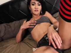 ladyboy-trans-in-long-socks-wanks-her-dick