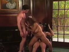 Sexy Persian Slut Double Penetrated