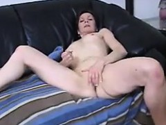 granny-with-small-tits-teasing-her-pussy
