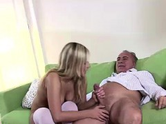 blonde-in-uniform-fucks-older-british-guy