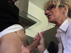 french mature marina penetrated in stockings