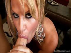 Busty Housewife Taking Care Of Her Husbands Big Cock