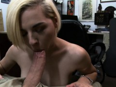 A Cute Blonde Goes Wild And Gets Fucked