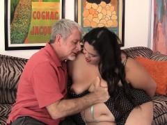 Fatty Latina BBW Lorelai Givemore railing a fat dick