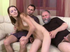Lustful Old Boy Explores Young Juicy Body Of A Pretty Girl