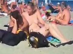 public-nude-beach-swinger-sex-in-summer-2015