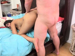 Sophia Leone Sucks Dick And Gets Cum On Her Feet