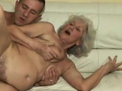 humping the granny hairy pussy