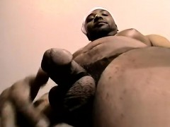 Big Black Hairy Cock Only Pix Davonte Likes To Show Off