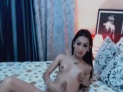 skinny-slut-wanks-cock-hard